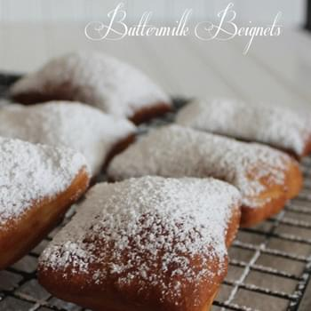 Buttermilk Beignets – French Donuts