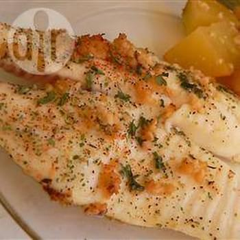 White Fish with Lemon and Garlic