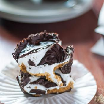 Gooey S'mores Candy Cups