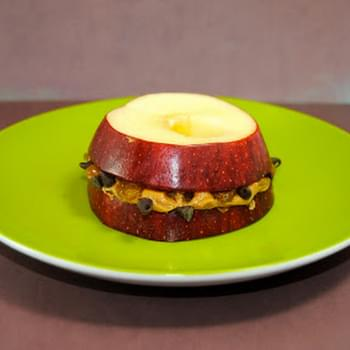Protein-Packed Apple Sandwich