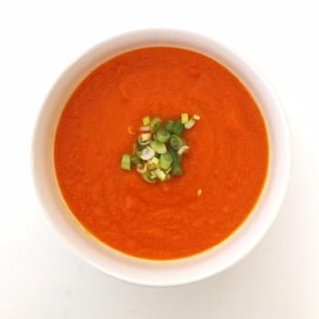 Detox Carrot Ginger Soup