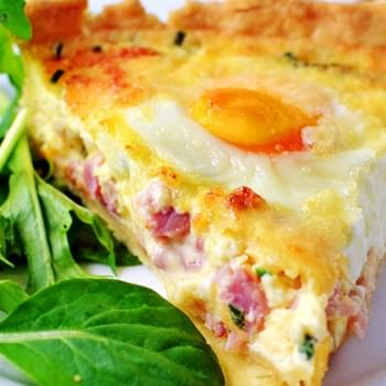 Italian Hungry Man's Quiche