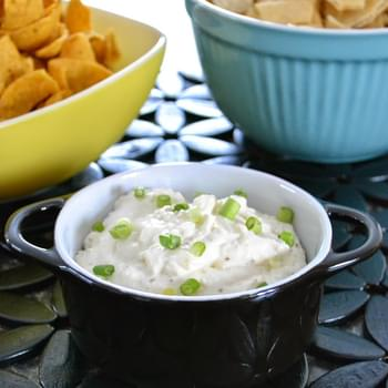 Caramelized Onion and Garlic Chip Dip