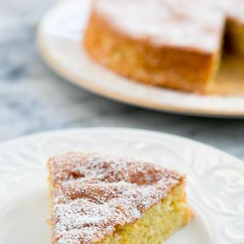 Flourless Lemon Almond Cake