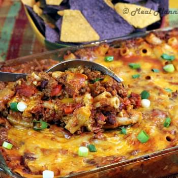 Tex-Mex Chili Jack Bake