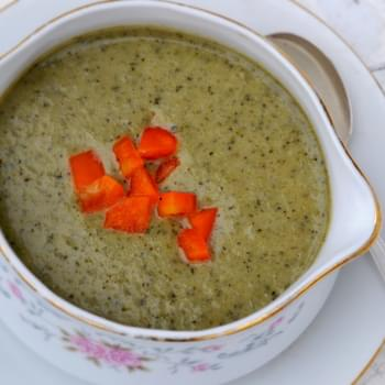 Dairy-Free Cream of Broccoli Soup