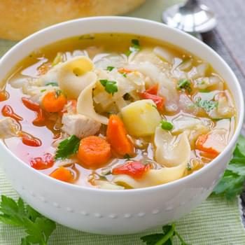 Chicken Noodle Harvest Vegetable Soup