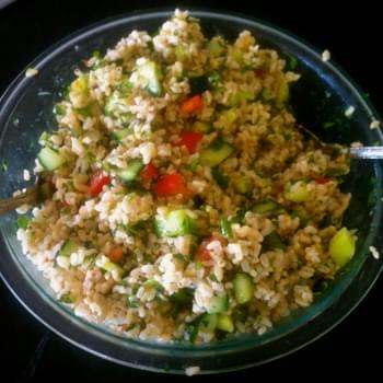 Tabouleh Brown rice salad
