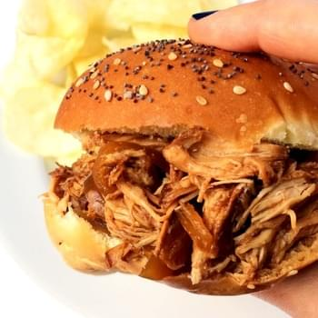 Slow Cooker BBQ Pulled Chicken
