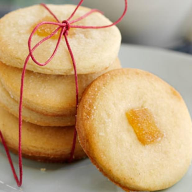 Ginger Shortbreads
