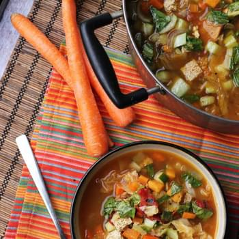 Chinese Nine-Vegetable Hot and Sour Soup