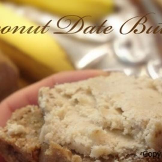 Coconut Date Butter