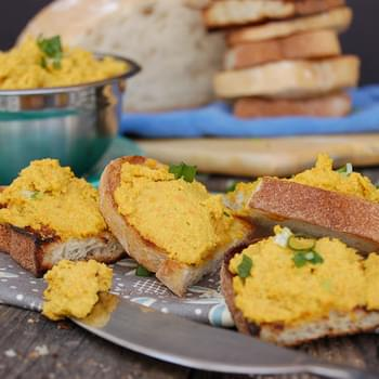 Easy Carrot Cashew Pate. Oil Free And Bursting With Flavor