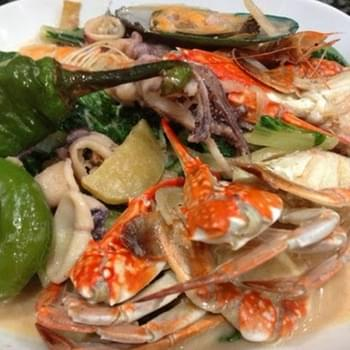 Mixed Seafood in Coconut Milk or Seafood Ginataan…My Style
