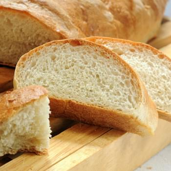 Crusty French Bread (Mixed in a Bread Machine)