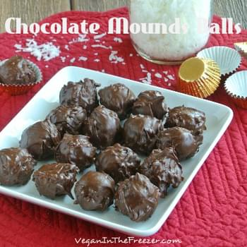 Chocolate Coconut Mounds Candy