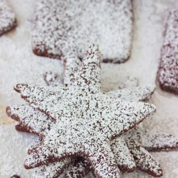 Chocolate Shortbread Cookies (Sugar Free)