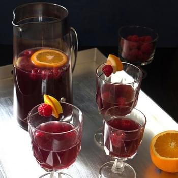 Raspberry Pomegranate Punch