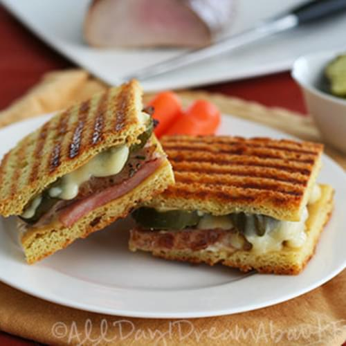 Pressed Cubano Sandwiches – Low Carb and Gluten-Free