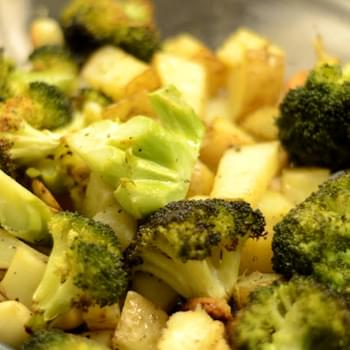 Perfect Oven Roasted Broccoli And Potatoes