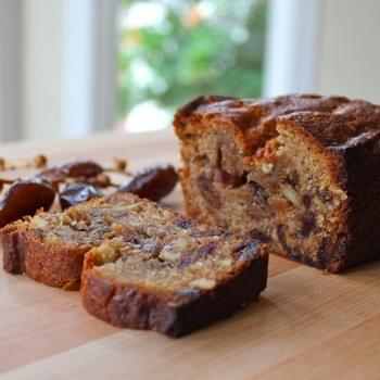 Date Honey Nut Cake