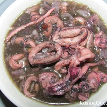 Adobong Pusit (Squid Adobo)