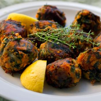 Spinach & Sweet Potato Bombs