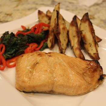 Sweet and Spicy Salmon Fillets