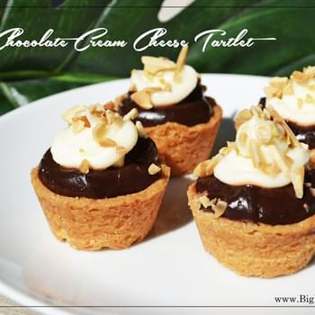Chocolate Cream Cheese Tartlet