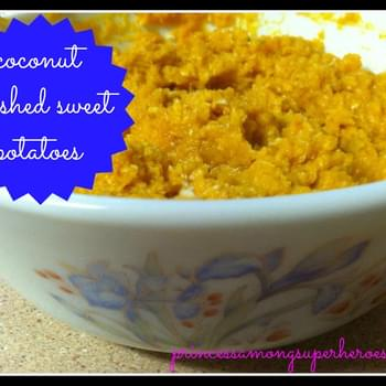 Coconut Mashed Sweet Potatoes