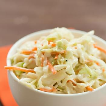 Buy A Bag Of Shredded Cabbage And Carrots And You Can Have Coleslaw In 5 Minutes!