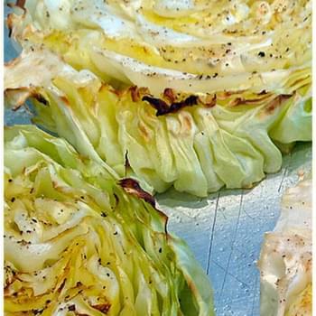 Cabbage Steaks Recipe Grilled or Baked