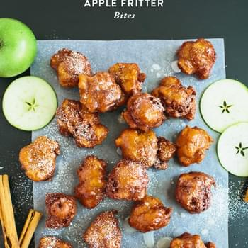 Apple Fritter Bites
