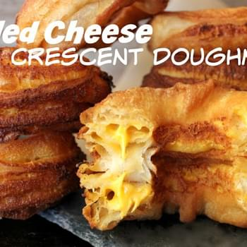 ~Grilled Cheese Crescent Doughnuts!
