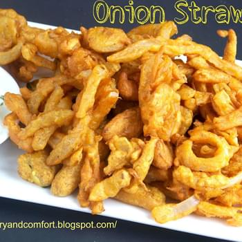Onion Straw Fritters