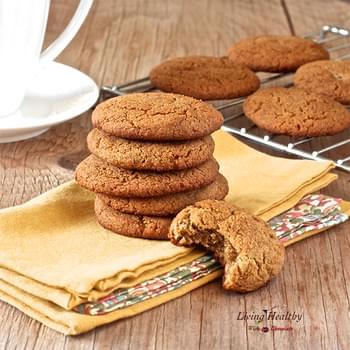 Soft and Chewy Ginger Cookies (gluten & grain free)