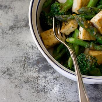 Miso Vegetables & Tofu