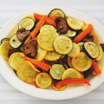 Oven Roasted Seasonal Vegetables