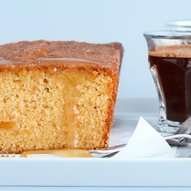 Orange And Hazelnut Drizzle Cake