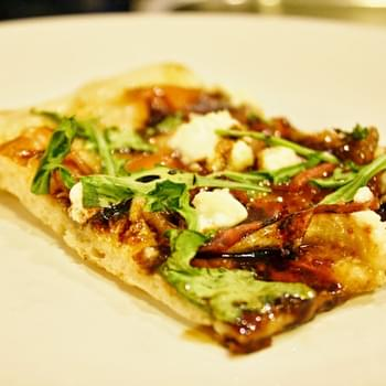 Prosciutto And Fig Pizza With Arugula