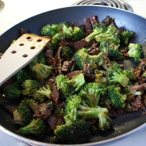 Beef and Broccoli Stir-Fry recipe – 153 calories