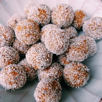Mind Blowing Carrot Cake Truffles