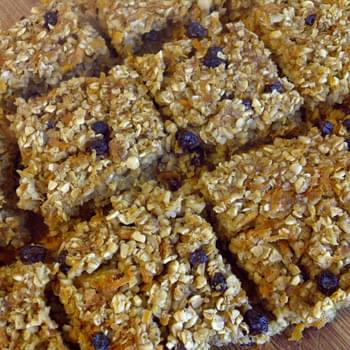 Carrot Squares (clean Eats/vegan)