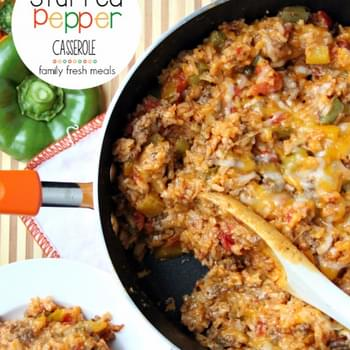 One Pot Stuffed Pepper Casserole