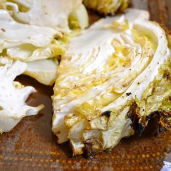 Caesar Roasted Cabbage