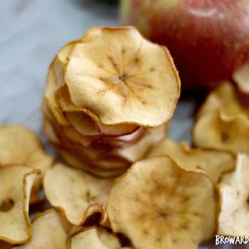 Homemade Crunchy Apple Chips