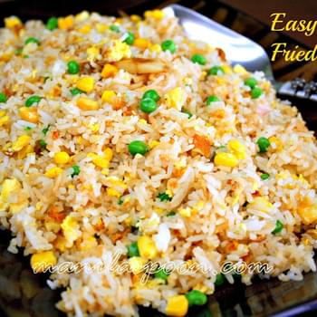 Easy Garlic Fried Rice (Sinangag)