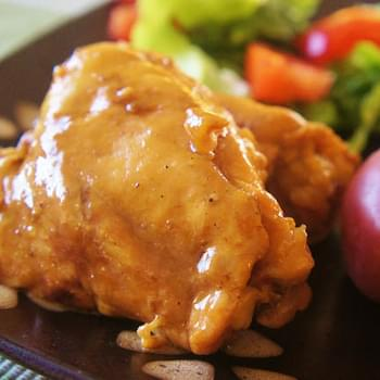 Slow Cooker (crock-pot) Garlic Lime Chicken