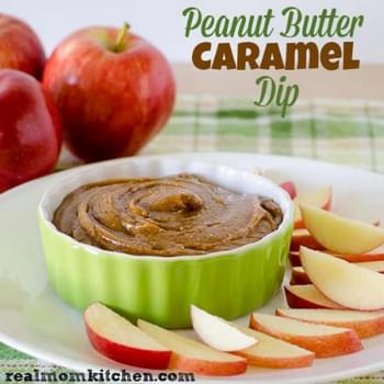 Peanut Butter Caramel Dip and Make a Natural Difference with Smucker's Giveaway
