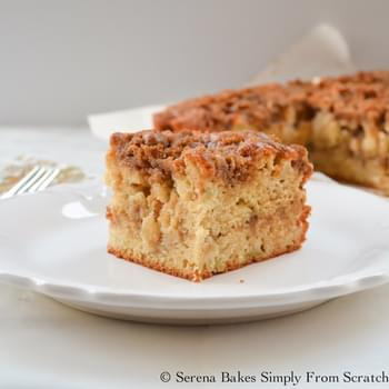 Apple Coffeecake With Cinnamon Brown Sugar Crumb
